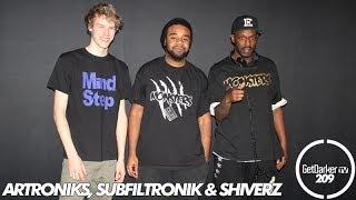 GetDarkerTV #209 - Shiverz b2b Subfiltronik & ARtroniks