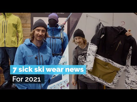 7 SICK SKI WEAR NEWS FOR 2021 | ISPO