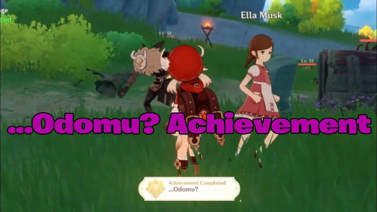 Odomu Achievement Genshin Impact Genshin Impact Mortal Travails Series I Achievement Guide Neoseeker