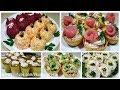 НОВИНКА!!!  5 Вкуснейших закусок / Новогоднее меню 2019 / Holiday snacks