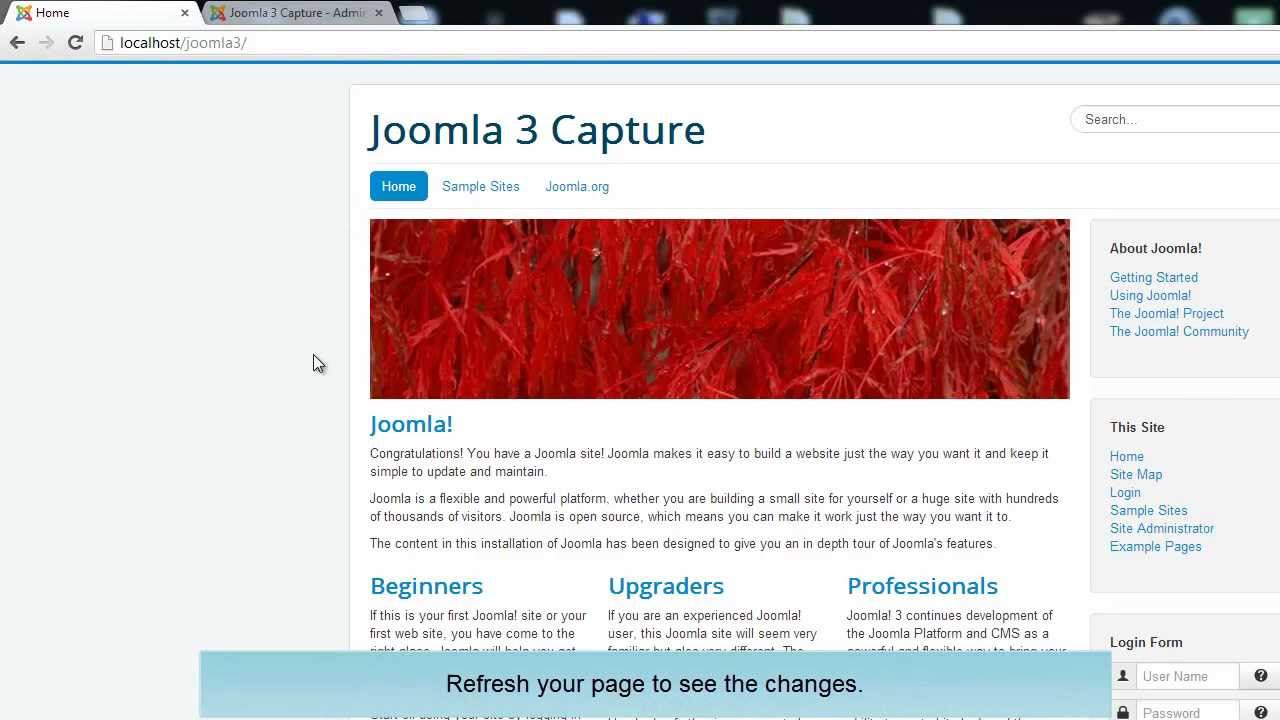 how to upload a template in joomla - how to install a joomla 3 0 templates youtube