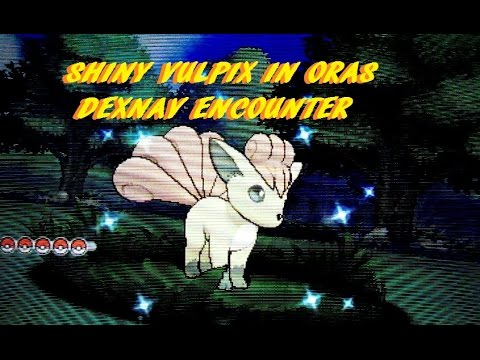 how to catch vulpix in pokemon omega ruby