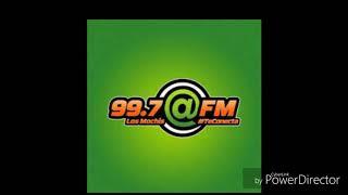 XHORF-FM ID ANTERIOR ARROBA FM 99.7 FM LOS MOCHIS SINALOA (2019)