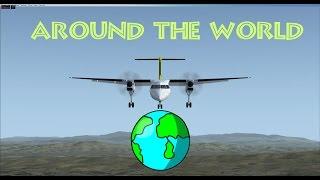 FSX - Around The World - Flight 100 Part1 - Preflight