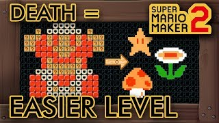 Super Mario Maker 2 - This Level Gets Easier When You Die
