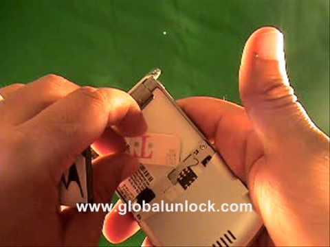 Vodafone UK Motorola SLVR Unlock Method