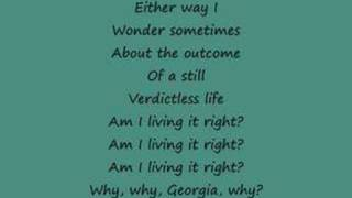 Why Georgia - John Mayer