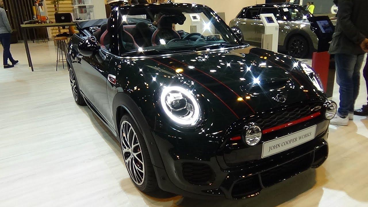 2018 Mini John Cooper Works Cabrio Exterior And Interior Salon