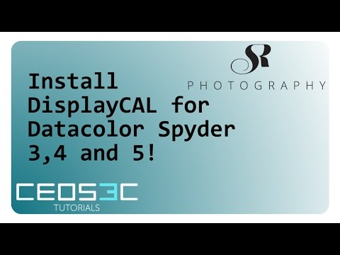 Calibrate your screen with DisplayCAL and a Spyder 5 - Ceos3c