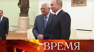 Владимир Путин провел переговоры с прибывшими в Москву лидерами Молдавии, Судана, Габона, Палестины.