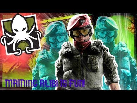 How to main ALIBI!...Rainbow Six Siege