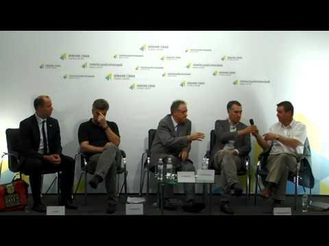 Petras Auštrevičius, Mark Demesmaeker, Richard Howitt, Arne Lietz. UCMC, 22.07.2015