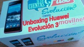 Unboxing Huawei Evolución 3 Rojo - (CM990)