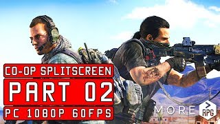 Ghost Recon Wildlands | Co-op Simulated Split Screen | LIVE PART 02 [ PC 1080p 60fps ]