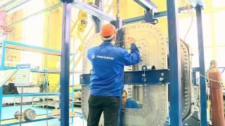 : Испытания прокладок для PPTF-стендов ИТЭР. ОАО «Криогенмаш», апрель 2014 г.
