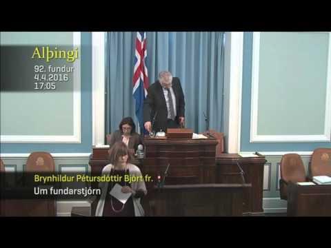 Icelandic Parliament Live Stream