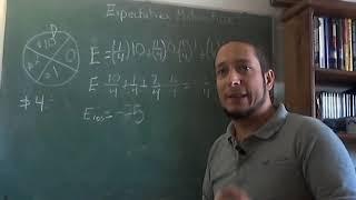 La expectativa Matemática