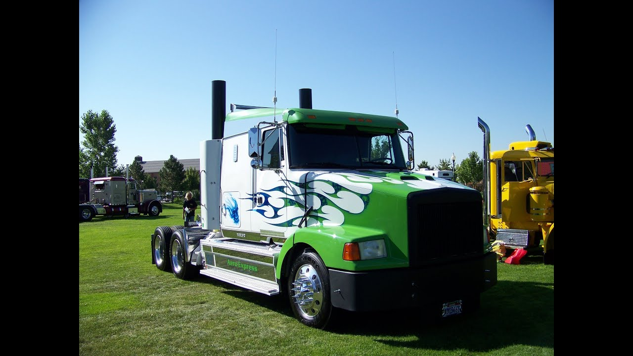 Aero express 1995 customized volvo at the great salt lake truck show 2011