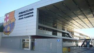 """FC BARCELONA'S TRAINING CENTER """"Joan Gamper"""""""
