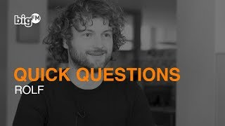QUICK QUESTIONS MIT DEUTSCHLANDS BIGGSTER MORNINGSHOW: ROLF