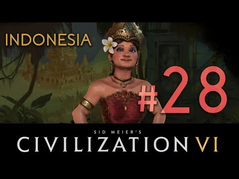 Indonesia - Civilization 6 - DLC// Let's Play - Episode #28 [Surrounded]