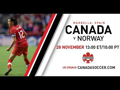 Canada Soccer's Women's National Team v Norway International Friendly LIVE from Marbella, ESP