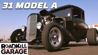 homepage tile video photo for The F-Rod Is Born! '31 Model A Drag Racer | Roadkill Garage | Motor Trend