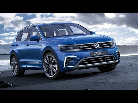 2015 Volkswagen Tiguan GTE Concept Review Rendered Price Specs Release Date