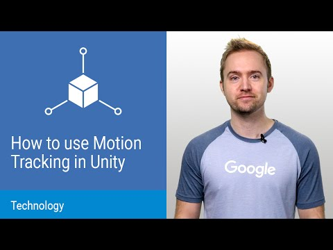 Project Tango: How to use Motion Tracking in Unity