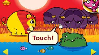 """Touch! Kids Safari """"SMARTSTUDY Education Games"""" Android Gameplay Video"""