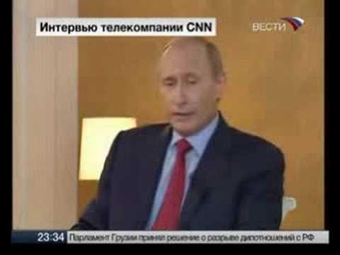 PUTIN ~2/3 ~ CNN FULL (English subtitles) ~ Интервью Путина CNN
