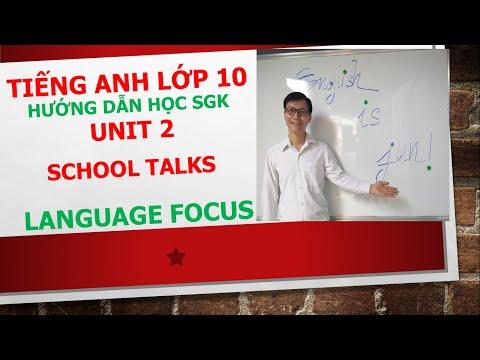 Tiếng Anh lớp 10 (Học SGK) - Unit 2 - Language focus - Exercise 3