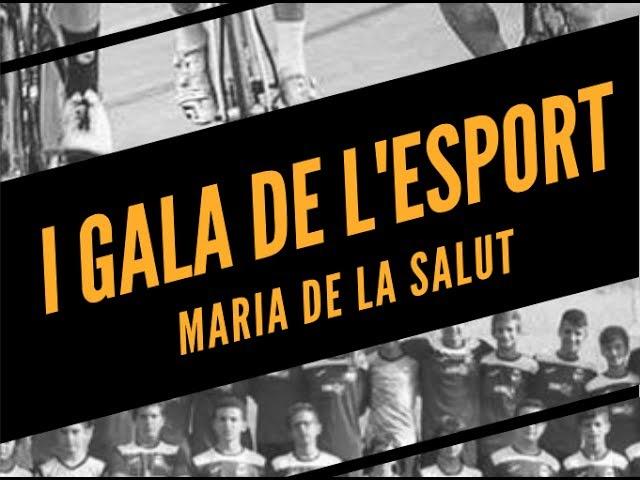 I Gala de l'Esport de Maria de la Salut