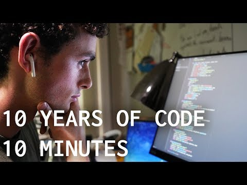 10 Years of Coding in 10 Minutes