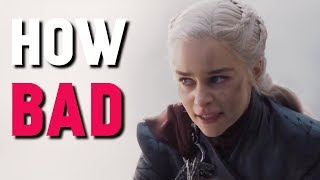Is the Final Season Really That Bad (Game of Thrones)