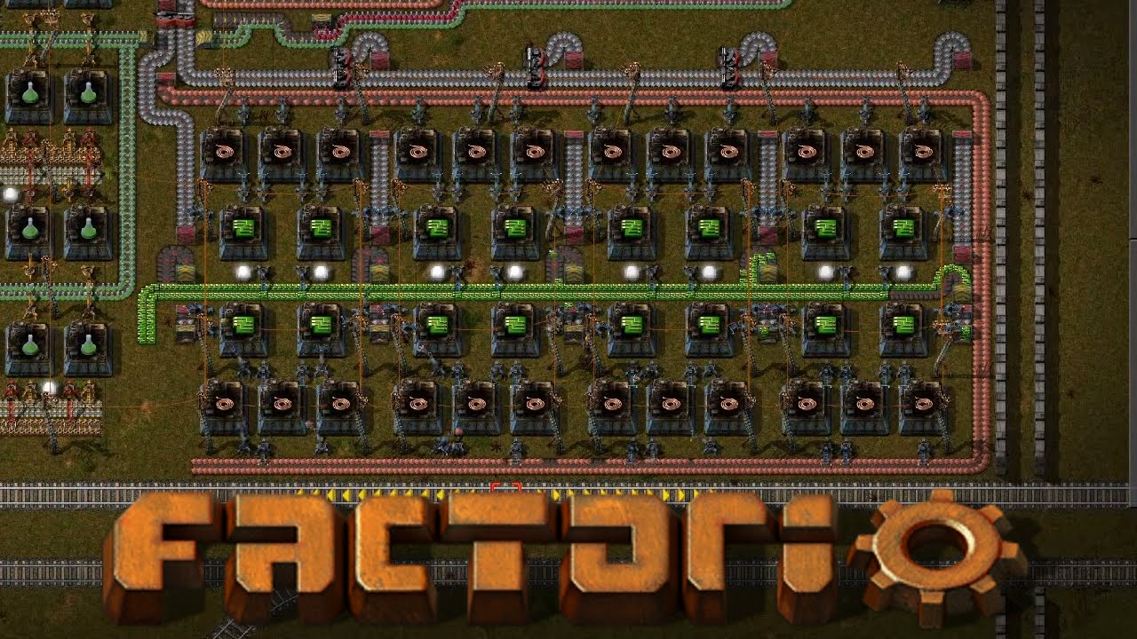 [12] Factorio Season 2   Green U0026 Red Circuit Production (Letu0027s Play)    YouTube