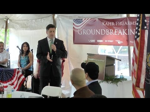Kahr Firearms Group | Groundbreaking Ceremony, PA [Full Version]