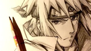 ASMR | Pencil Drawing 106 | Minato Namikaze (Request)