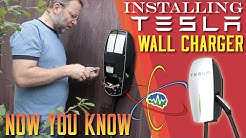 Installing Tesla Wall Charger