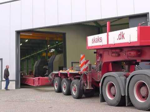 Heavy Duty TRANSPORT - NILES SIMMONS - MACH4METAL - 70 T x 4500 width !