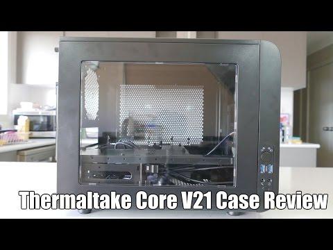 Thermaltake Core V21 Micro-ATX Case Review