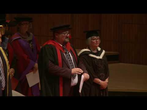 LSBU School of Health and Social Care Graduation Ceremony 2016 - 1/2