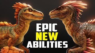 NEW RAPTOR MODEL AND AMAZING NEW ABILITIES! TLC Phase 2 Preview! Ark Survival Evolved