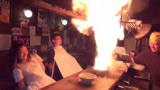 惊奇日本:噴火拉麵・要注意!【ビックリ日本:ラーメン噴火・要注意!】 thumbnail