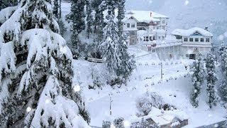 Heavy snowfall in Himachal Pradesh