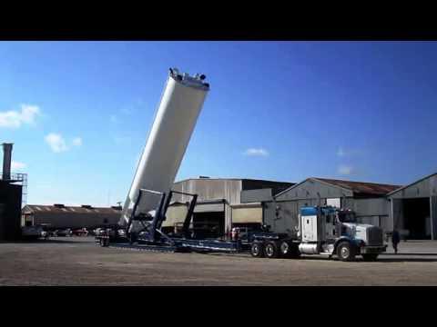 Frac Sand Silo : Loadcraft Industries - YouTube