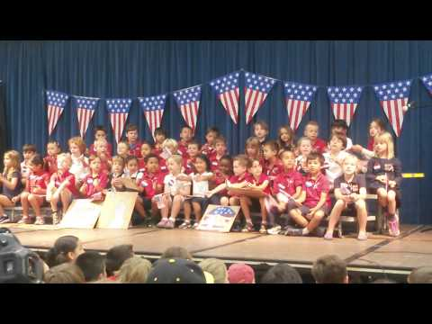 American Symbols On Parade Kinder Performance 3/5