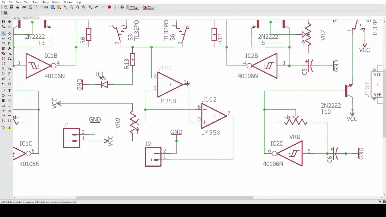 40106 noise box schematic overview - YouTube