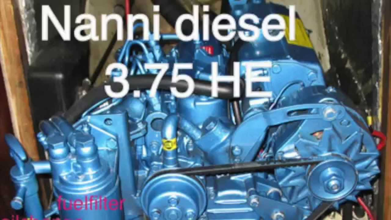 Nanni Diesel 3 75 He Maintenance Youtube