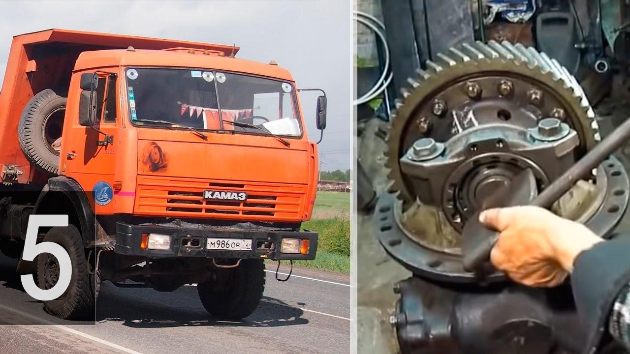 регулировка редуктора заднего моста грузовика вольво